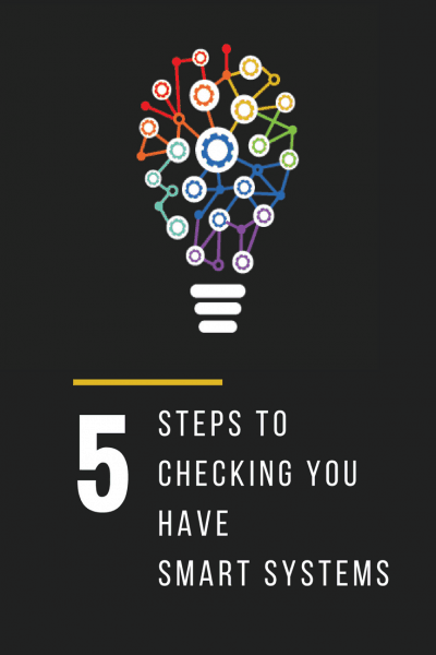 5 Steps to checking you have SMART Systems in your Business.