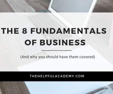 The 8 Fundamental of Business _ The Helpful Brand