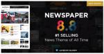 Newspaper website theme