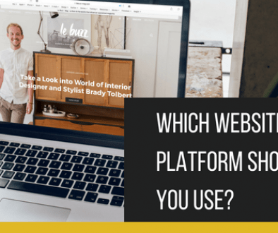 Which website platform should you use_