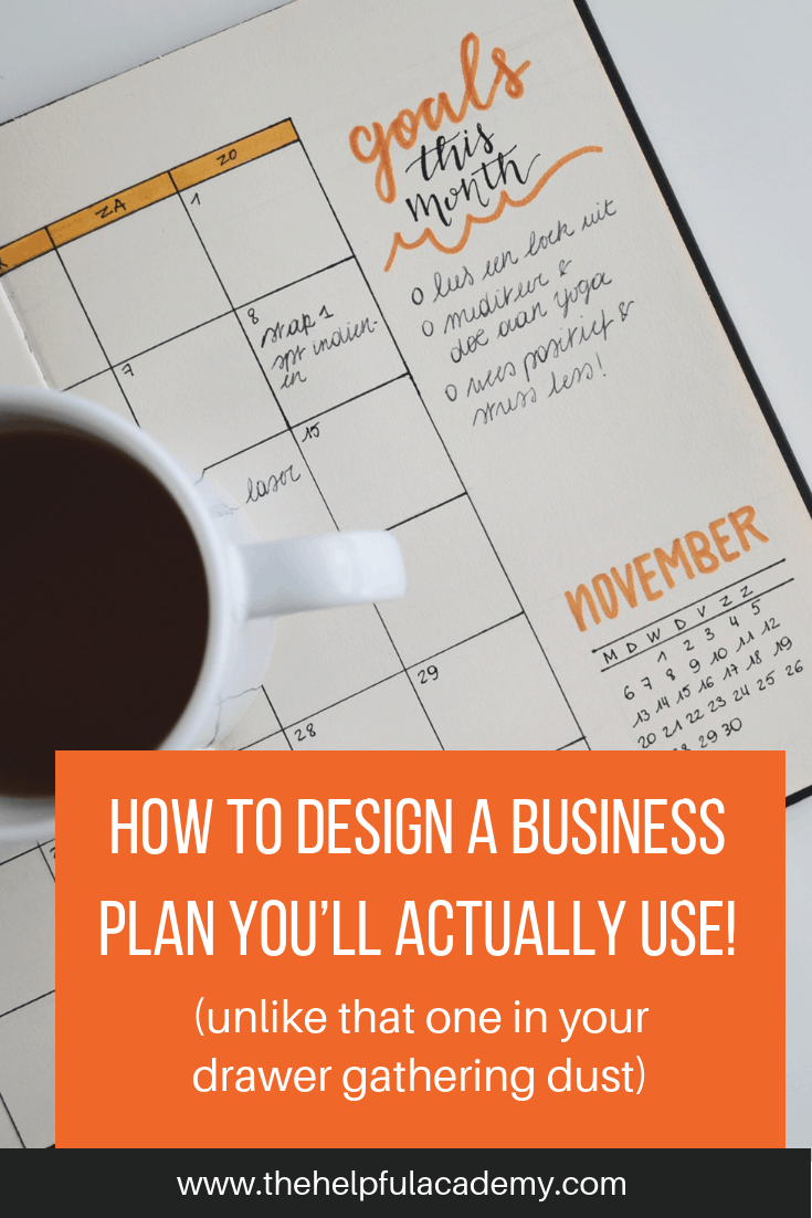 How to Design a plan you'll actually USE! | The Helpful Academy