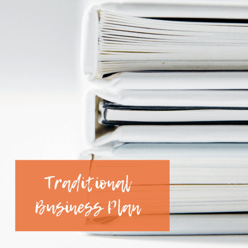 Traditional Business Plan | The Helpful Academy