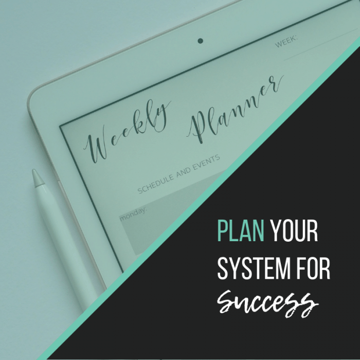 Plan for success | The Helpful Academy