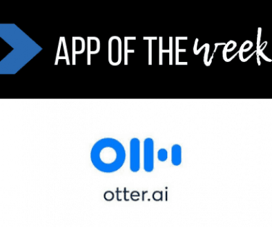 App of the week _ Otter Ai _ The Helpful Academy _ Save time with transcription software