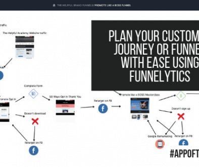 Plan your customer journey or funnel with ease using Funnelytics