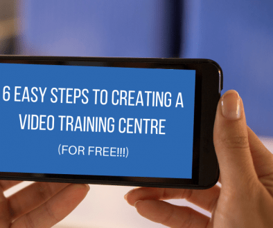 6 Easy Steps to Creating a Video Training Manual