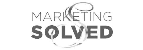 Marketing Solved B&W copy