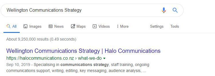 SEO Results from Step by Step SEO