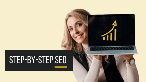 Step-by-step SEO Online Course Image
