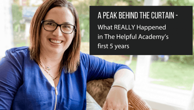 The Helpful Academy's first 5 years