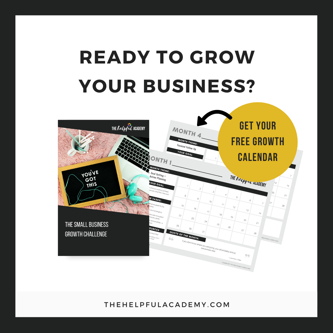 Small Business Growth Calendar Challenge3