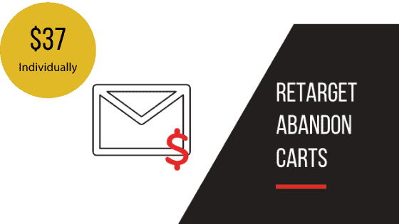 Retarget Abandoned Carts Email Sequence Template