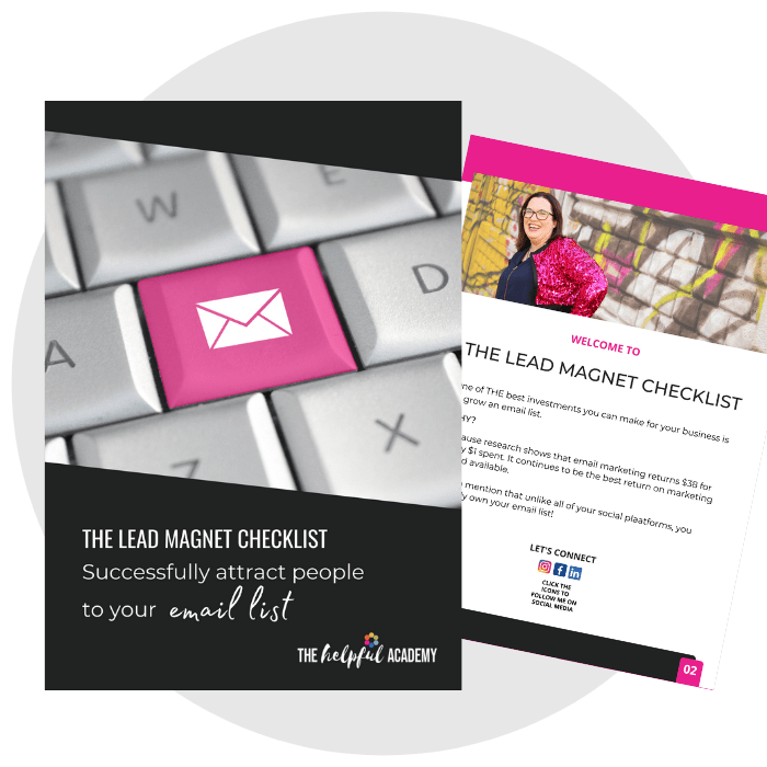 what are the lead magnet checklist to attract people to your email list
